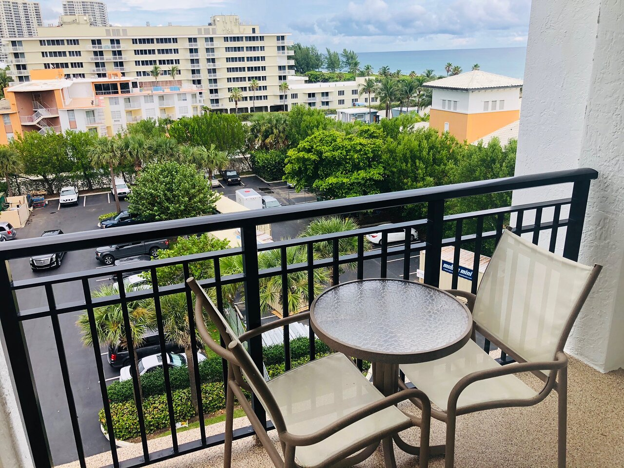Marriott's Ocean Pointe Balcony