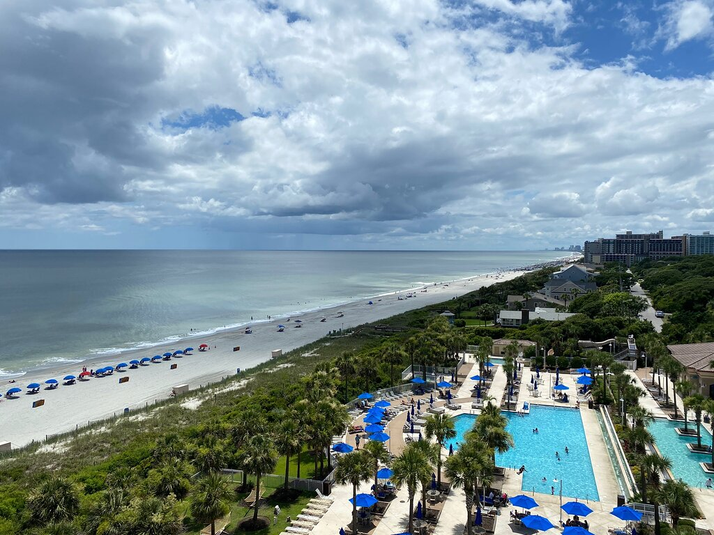 Marriott's Oceanwatch Villas Balcony