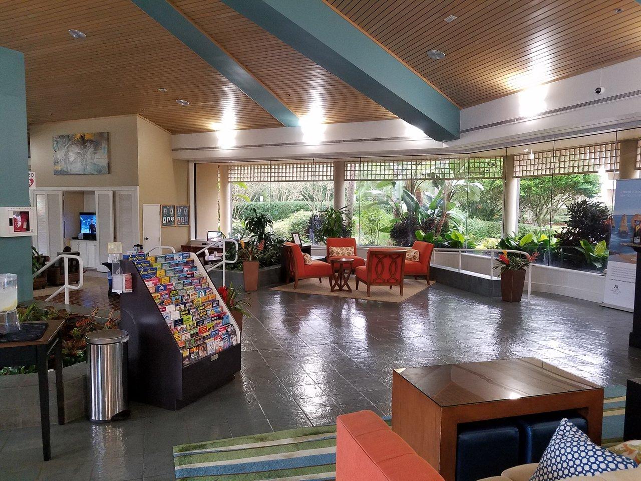 Marriott's Royal Palms Lobby