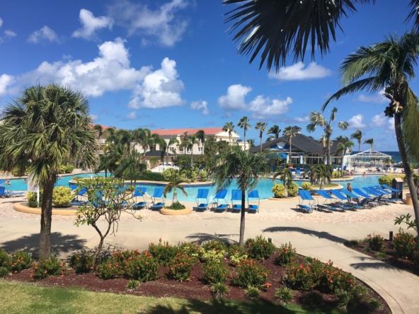 Marriott's St. Kitts Beach Club Pool Area