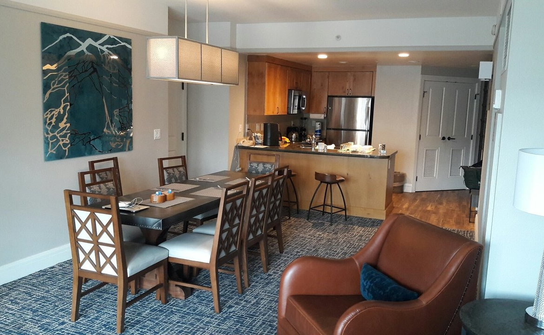 Marriott's Timber Lodge Living Room