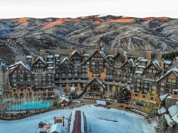 Ritz-Carlton Bachelor Gulch Aerial