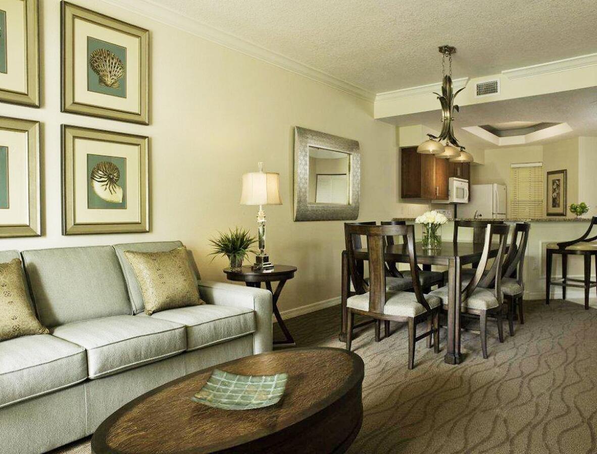 Sheraton Vistana Resort Living Room Dining Area