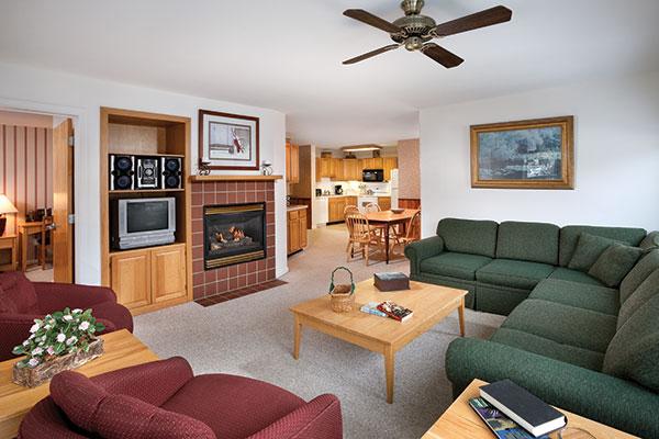 Smugglers' Notch Balsams Living Room