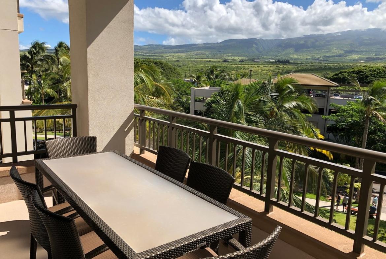 The Westin Nanea Ocean Villas, Ka'anapali Balcony