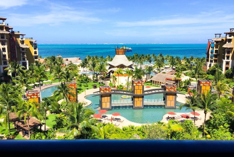 Villa Del Palmar Cancun Balcony View