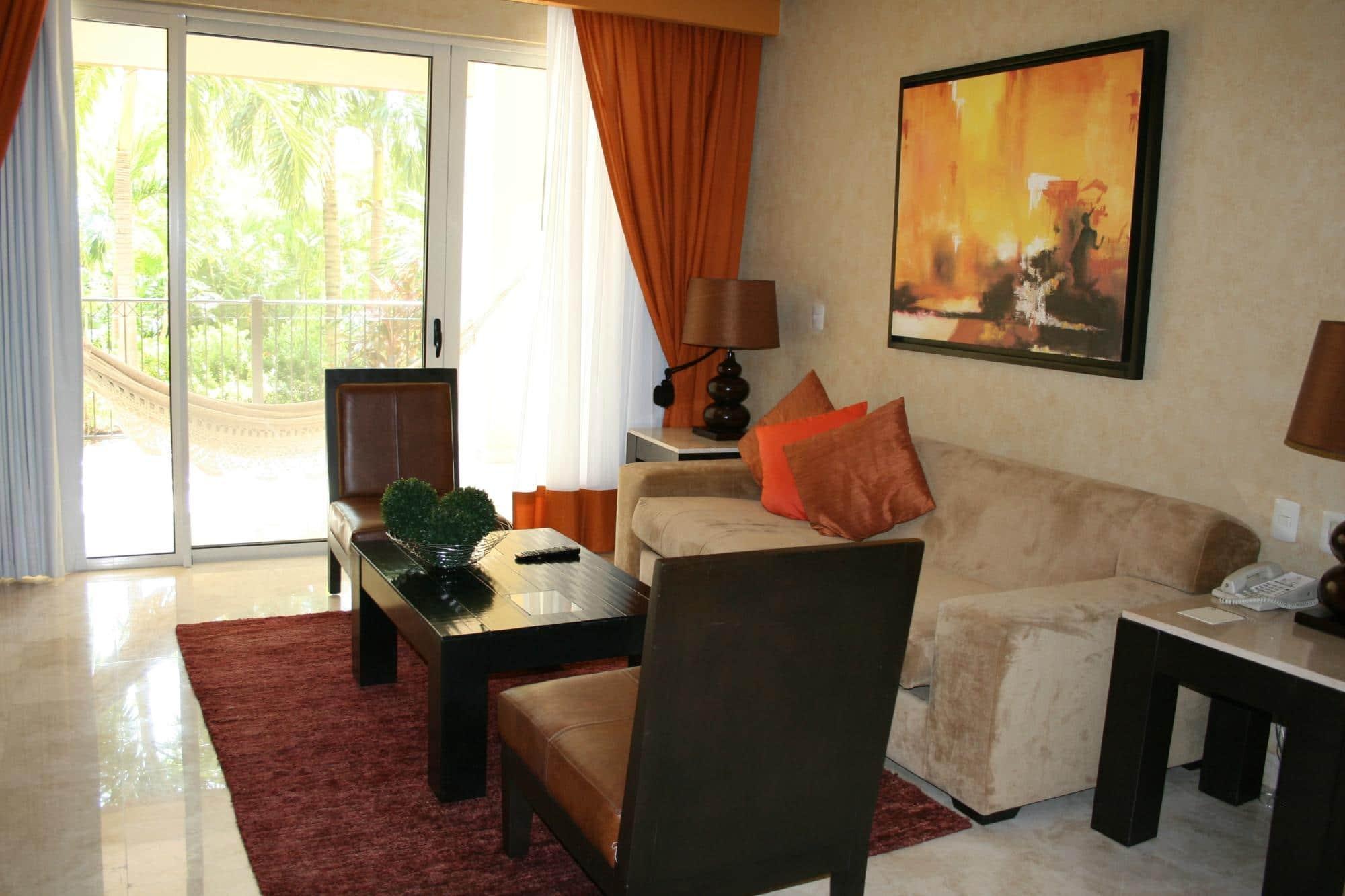 Villa Del Palmar Cancun Living Room