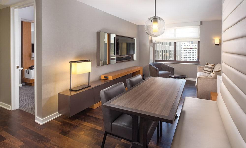 Wyndham Midtown 45 At New York City 1 Bedroom Presidential Living 2