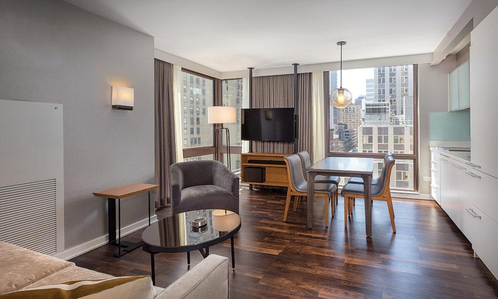 Wyndham Midtown 45 At New York City 1 Bedroom Presidential Living