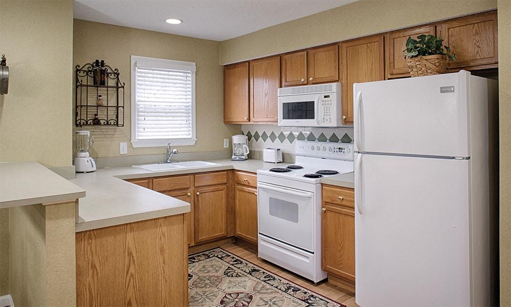 Wyndham Resort At Fairfield Plantation 1 Bedroom Kitchen