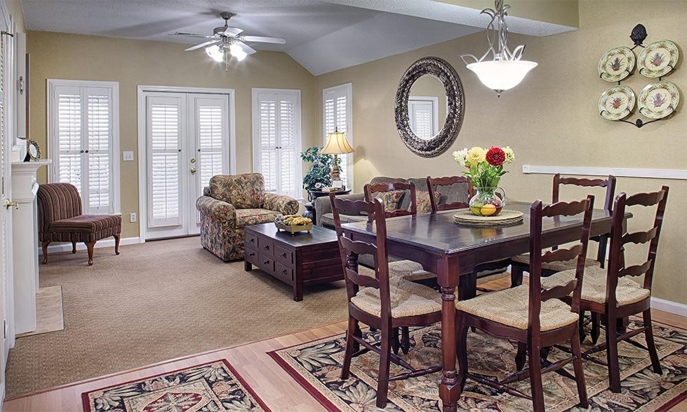 Wyndham Resort At Fairfield Plantation 1 Bedroom Living Area