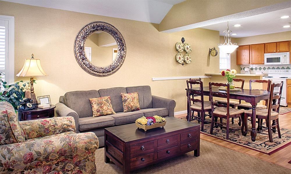 Wyndham Resort At Fairfield Plantation 1 Bedroom Living