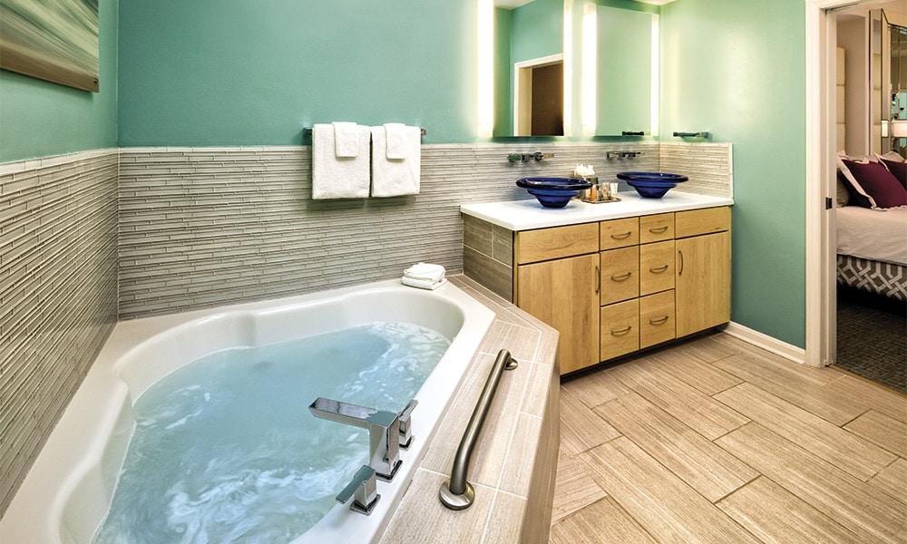 Club Wyndham Ocean Boulevard 4 Bedroom Presidential Bathroom