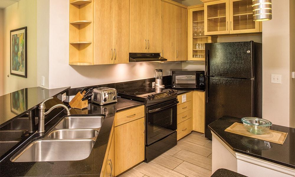 Club Wyndham Ocean Boulevard 4 Bedroom Presidential Kitchen