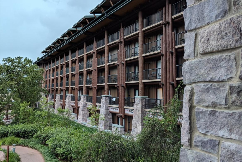 Copper Creek Villas at Wilderness Lodge Exterior View