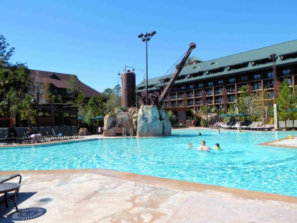 Copper Creek Villas at Wilderness Lodge Pool Area