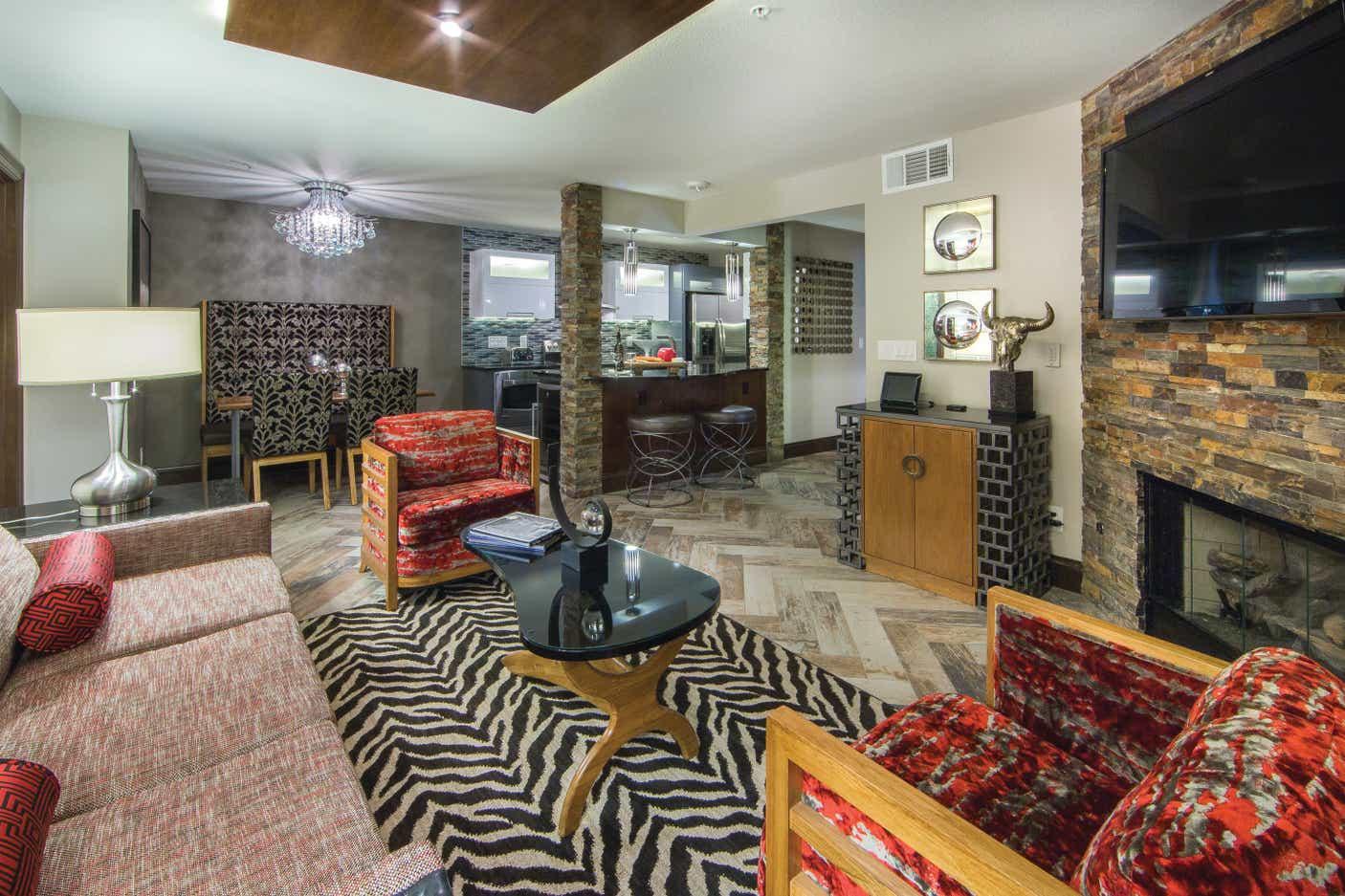 Desert Club Resort 2 Bedroom Living