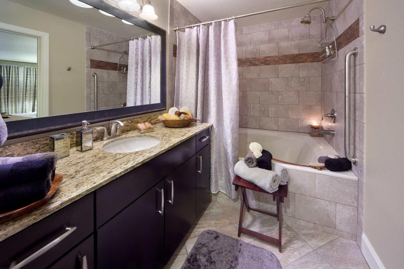 Desert Club Resort Bathroom