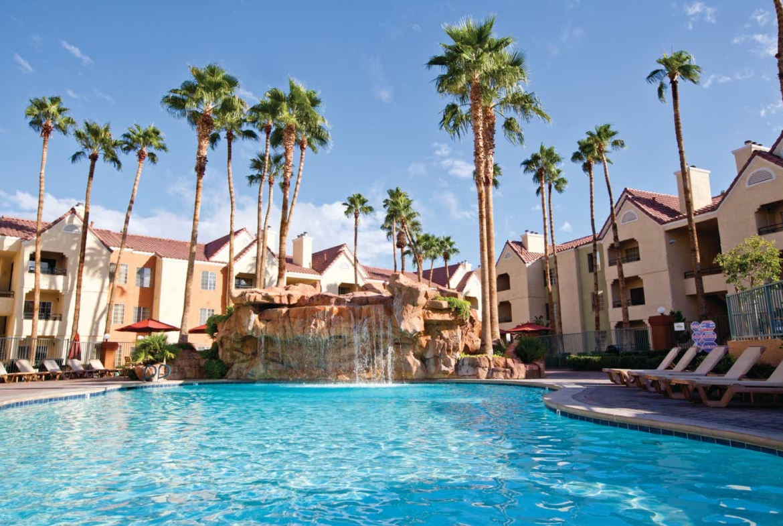 Desert Club Resort Pool Area