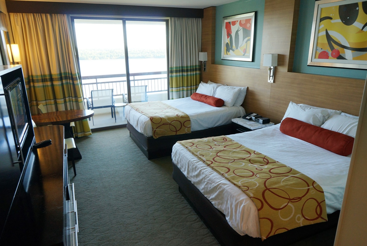 Disney's Bay Lake Tower At The Contemporary Double Bed