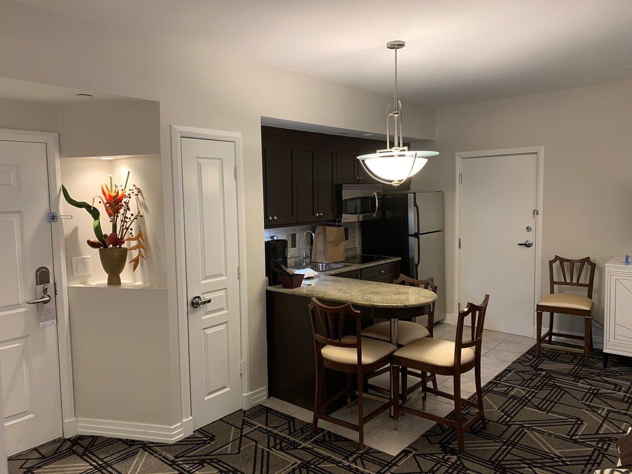 Hilton Grand Vacations at McAlpin-Ocean Plaza Kitchen