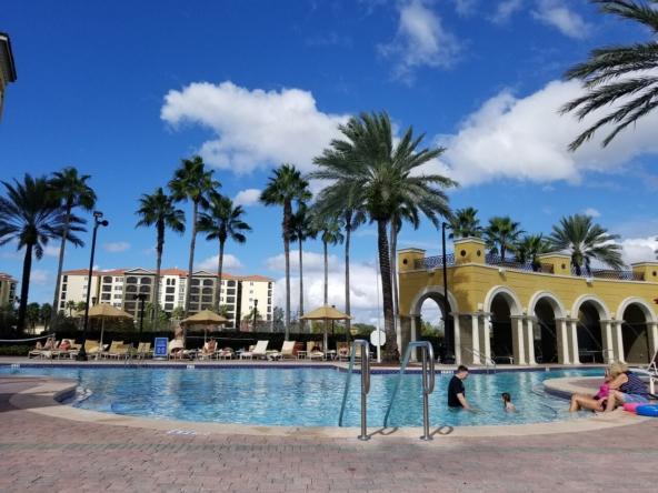 Hilton Grand Vacations at Tuscany Village Pool Area