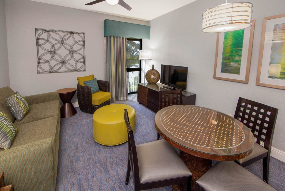 Holiday Inn Club Vacations At Orange Lake Resort Living Area