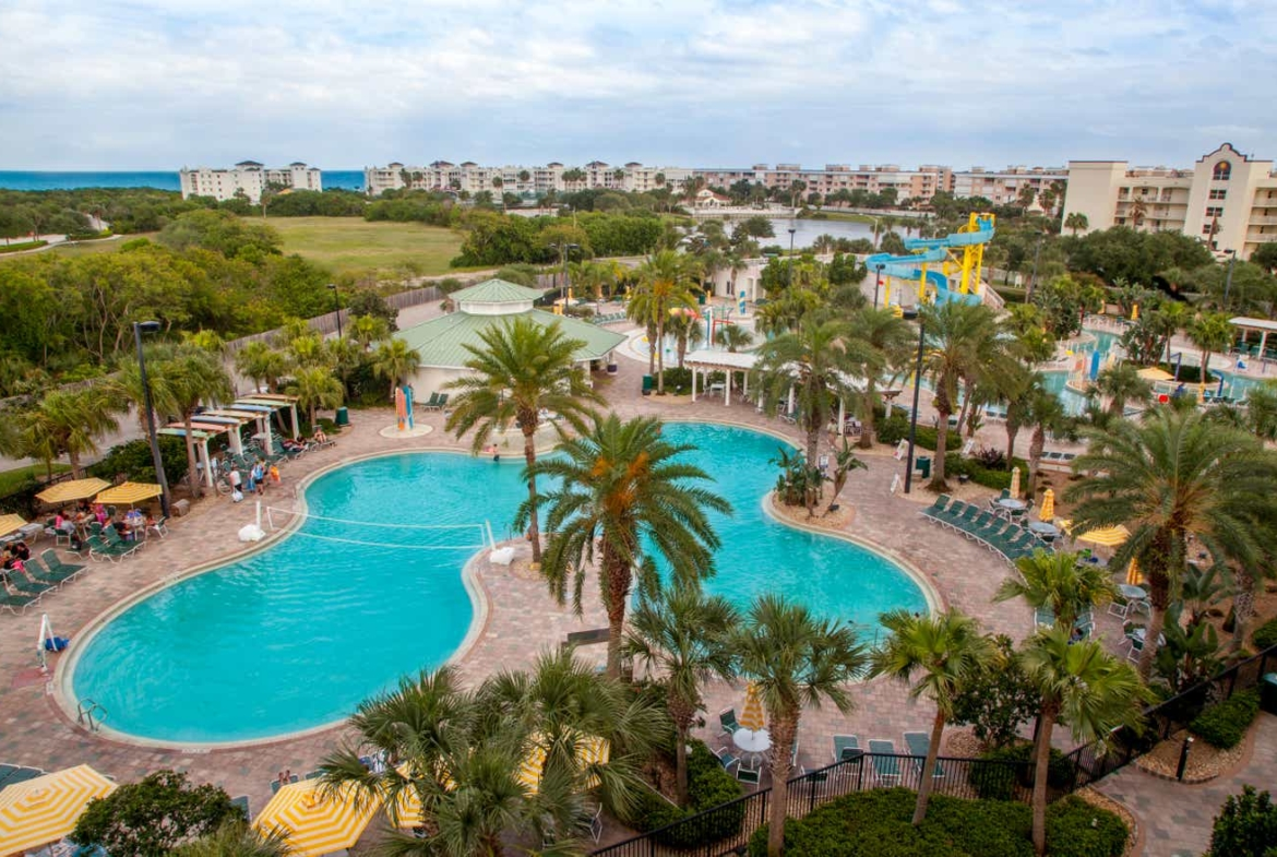 Holiday Inn Club Vacations Cape Canaveral Beach Resort Aerial