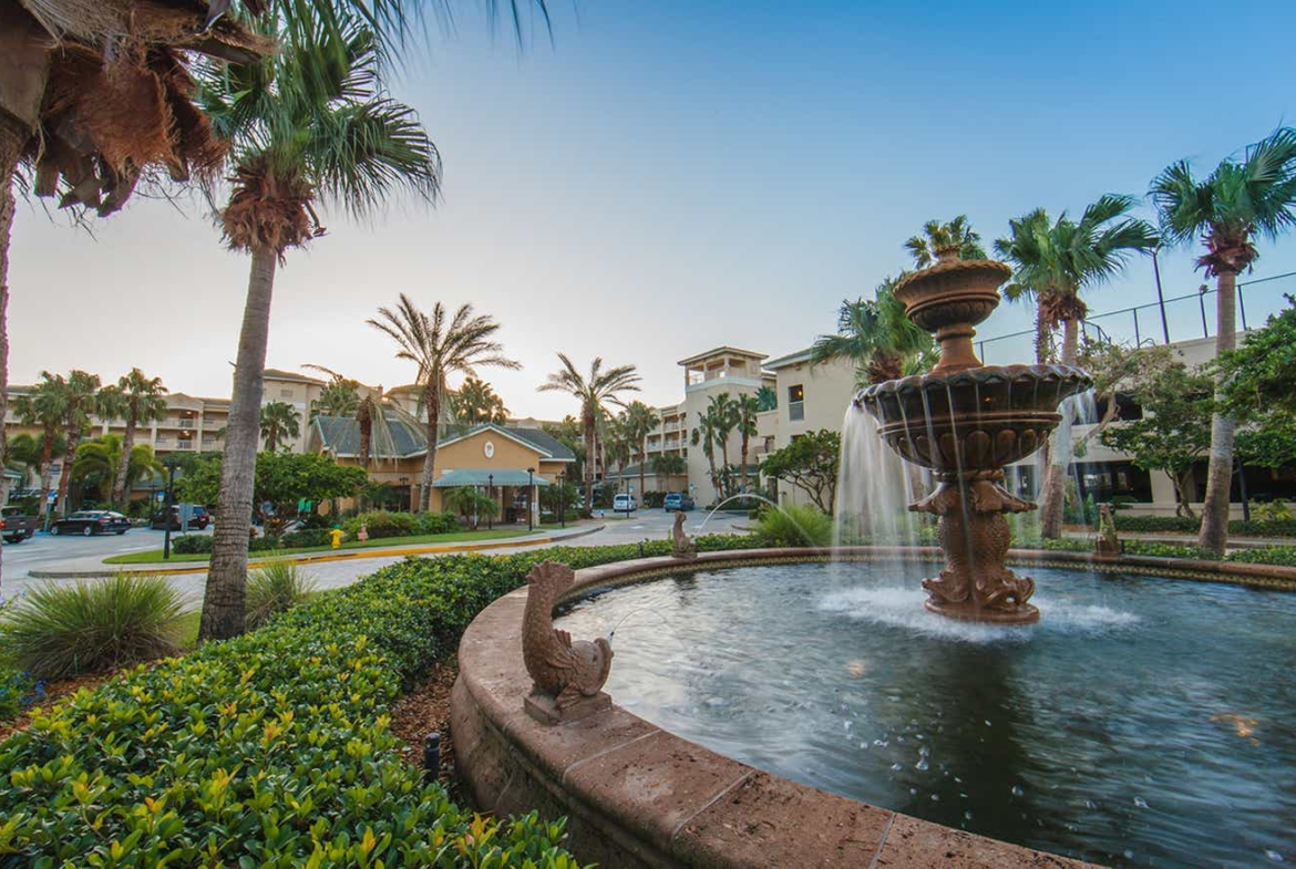 Holiday Inn Club Vacations Cape Canaveral Beach Resort Entrance