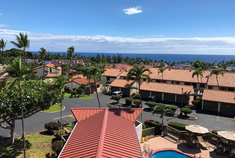Kona Coast Resort Outside Aerial
