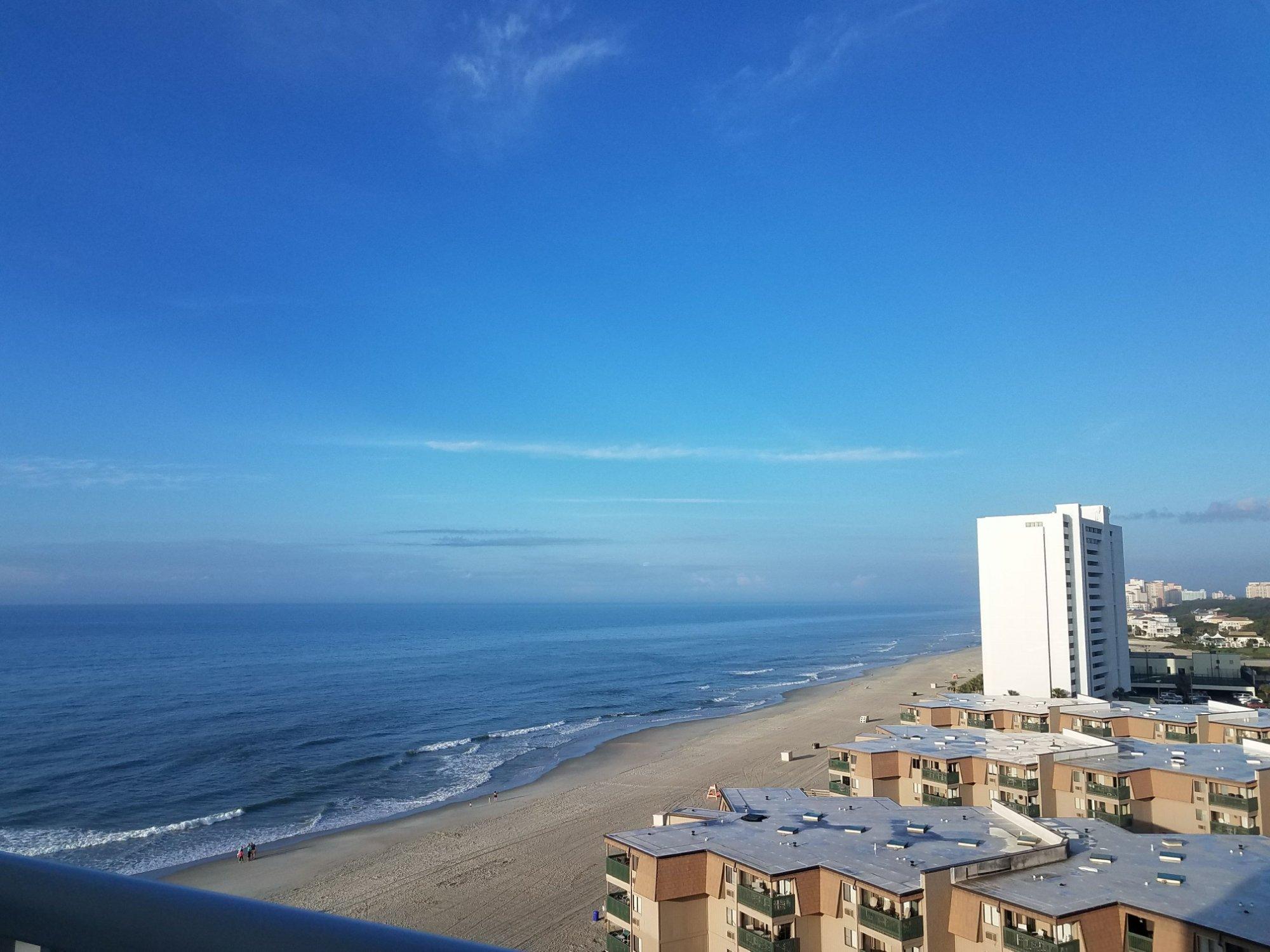 Sands Ocean Club Resort Balcony View