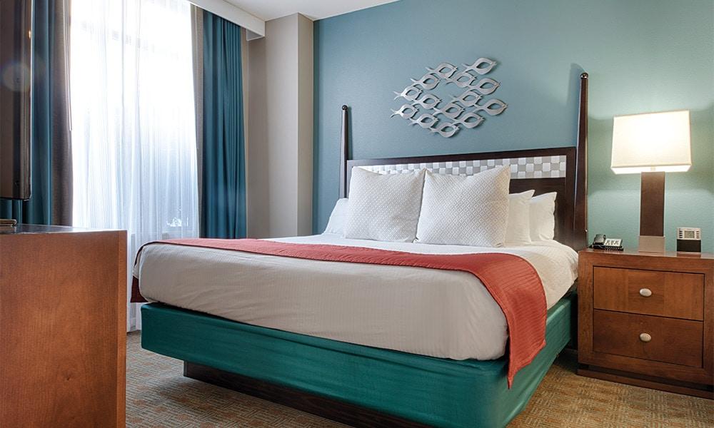 Club Wyndham National Harbor Bedroom