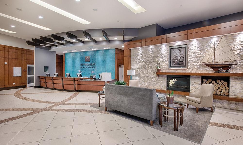 Club Wyndham National Harbor Lobby