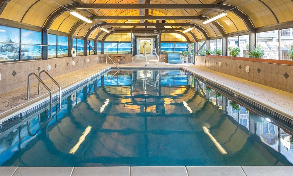 Club Wyndham Newport Onshore Indoor Pool Area