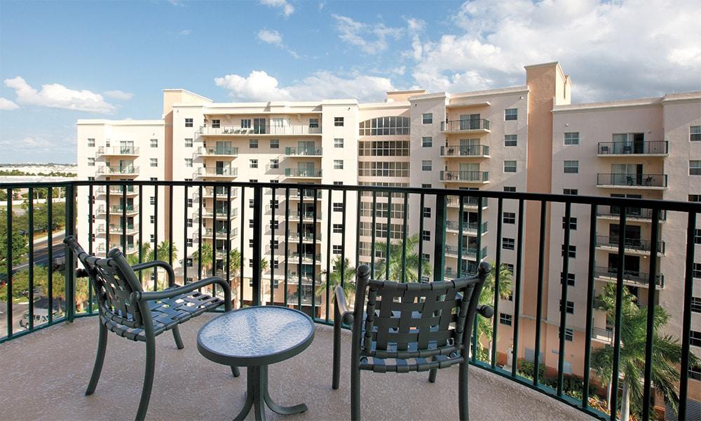 Club Wyndham Palm Aire Balcony