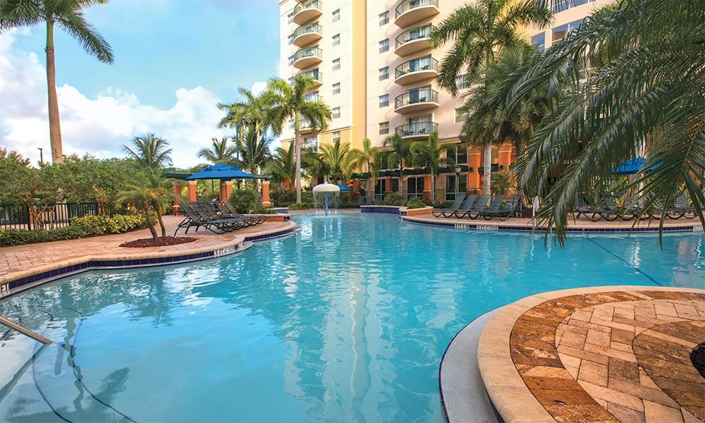 Club Wyndham Palm Aire Pool