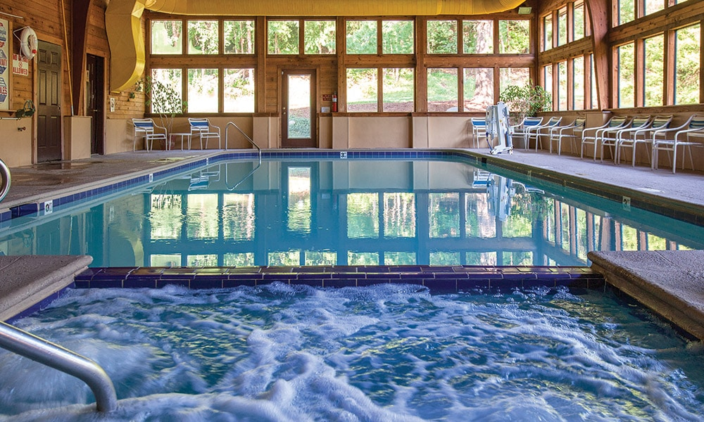 Club Wyndham Resort at Fairfield Mountains Indoor Pool