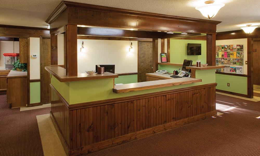 Club Wyndham Resort at Fairfield Mountains Lobby