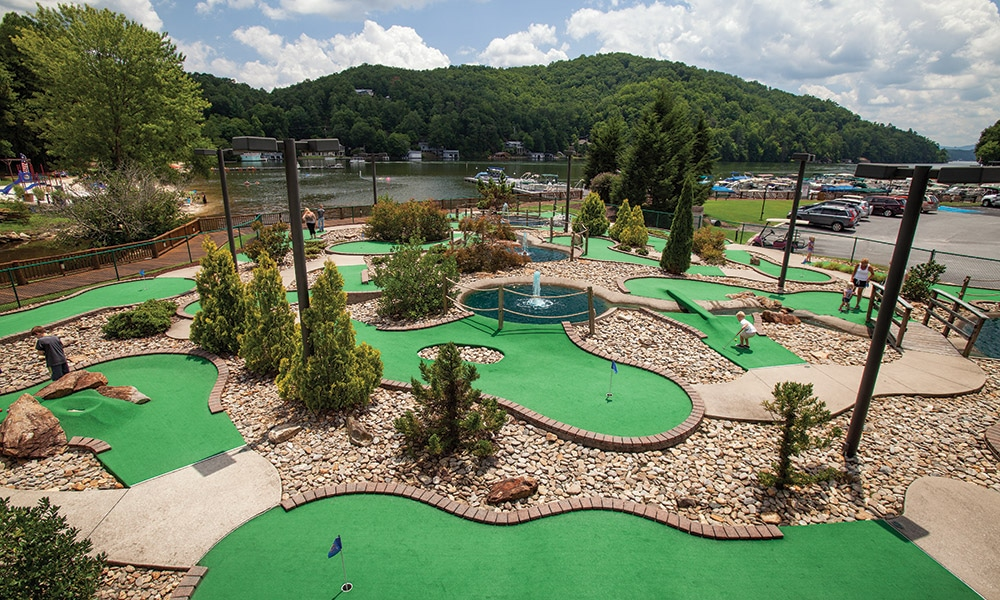 Club Wyndham Resort at Fairfield Mountains Mini Golf