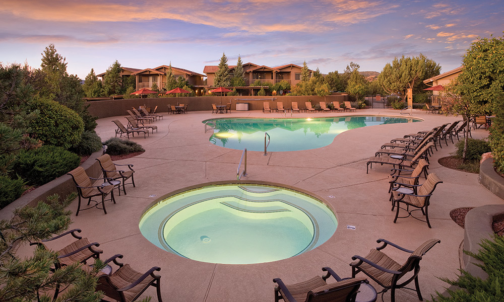 Club Wyndham Sedona Pool