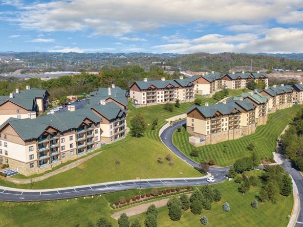 Club Wyndham Smoky Mountains Exterior Aerial