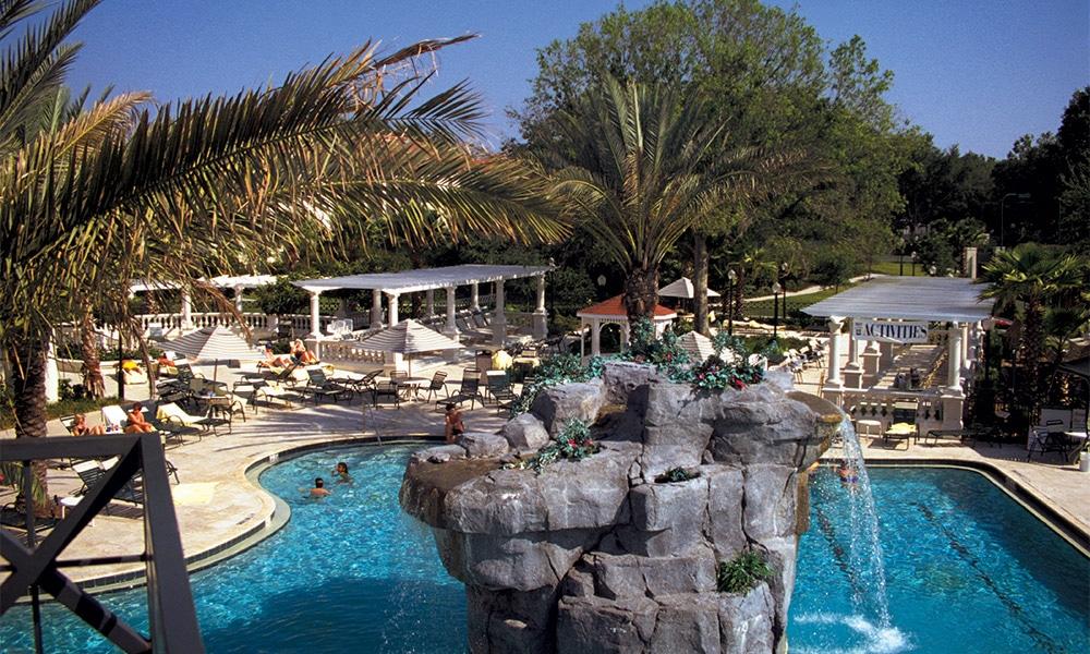 Club Wyndham Star Island Pool Area