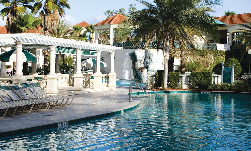 Club Wyndham Star Island Pool