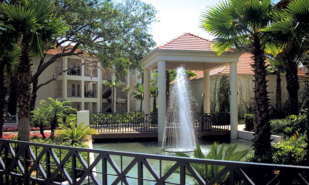 Club Wyndham Star Island Water Feature