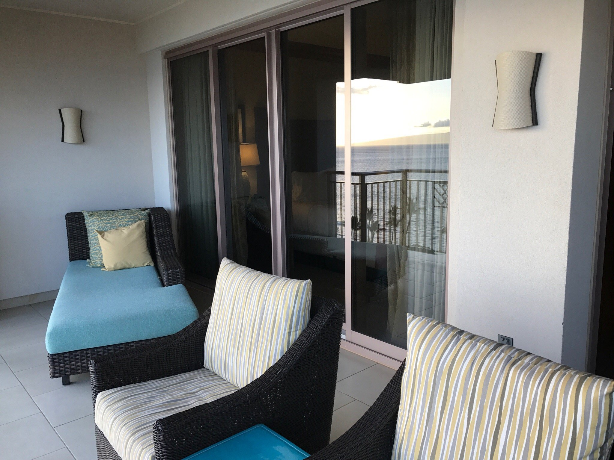 Hyatt Kaanapali Beach Balcony