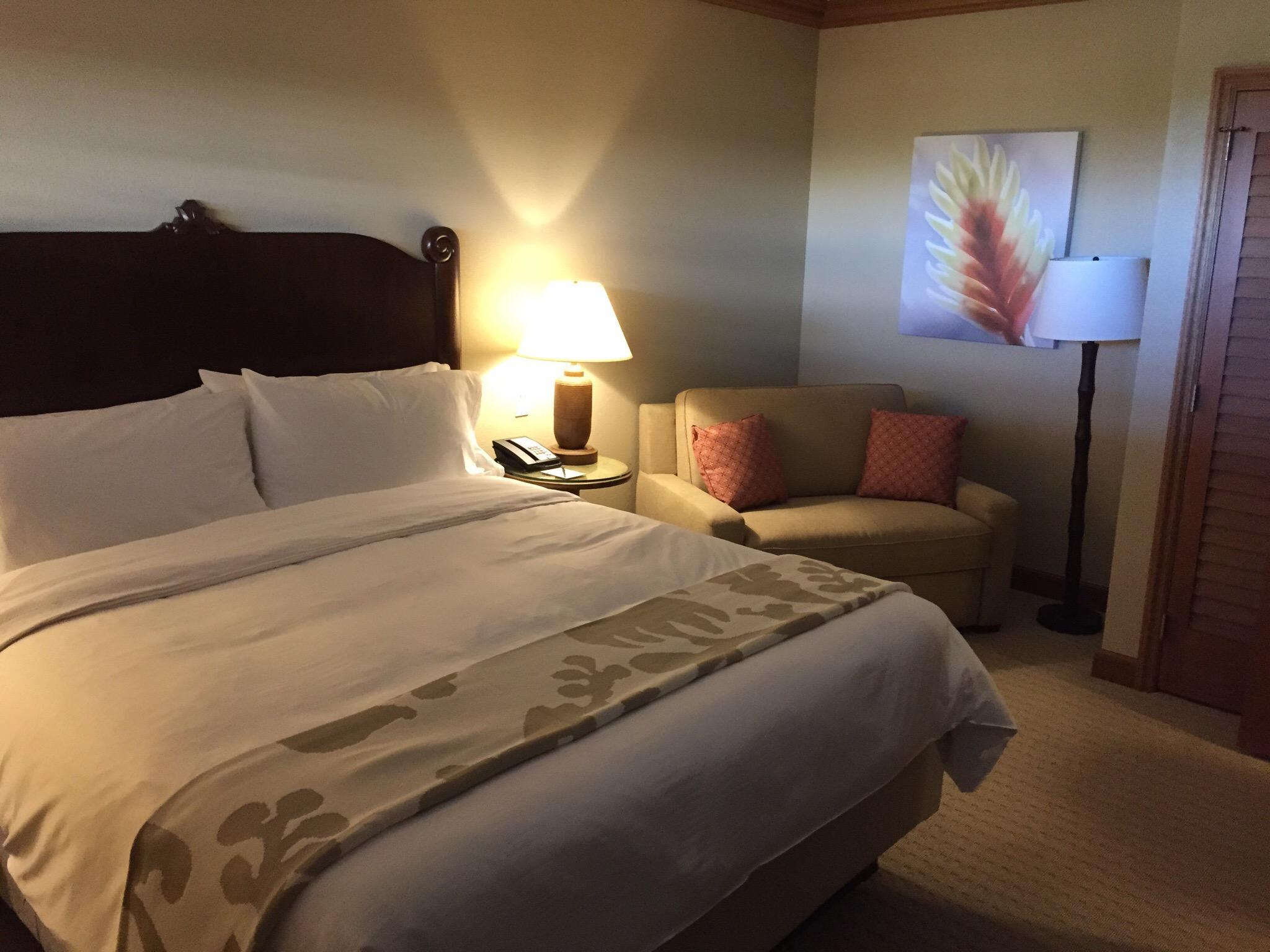 Hyatt Kaanapali Beach Bedroom
