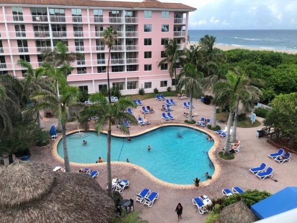 Palm Beach Shores Resort and Vacation Villas Balcony