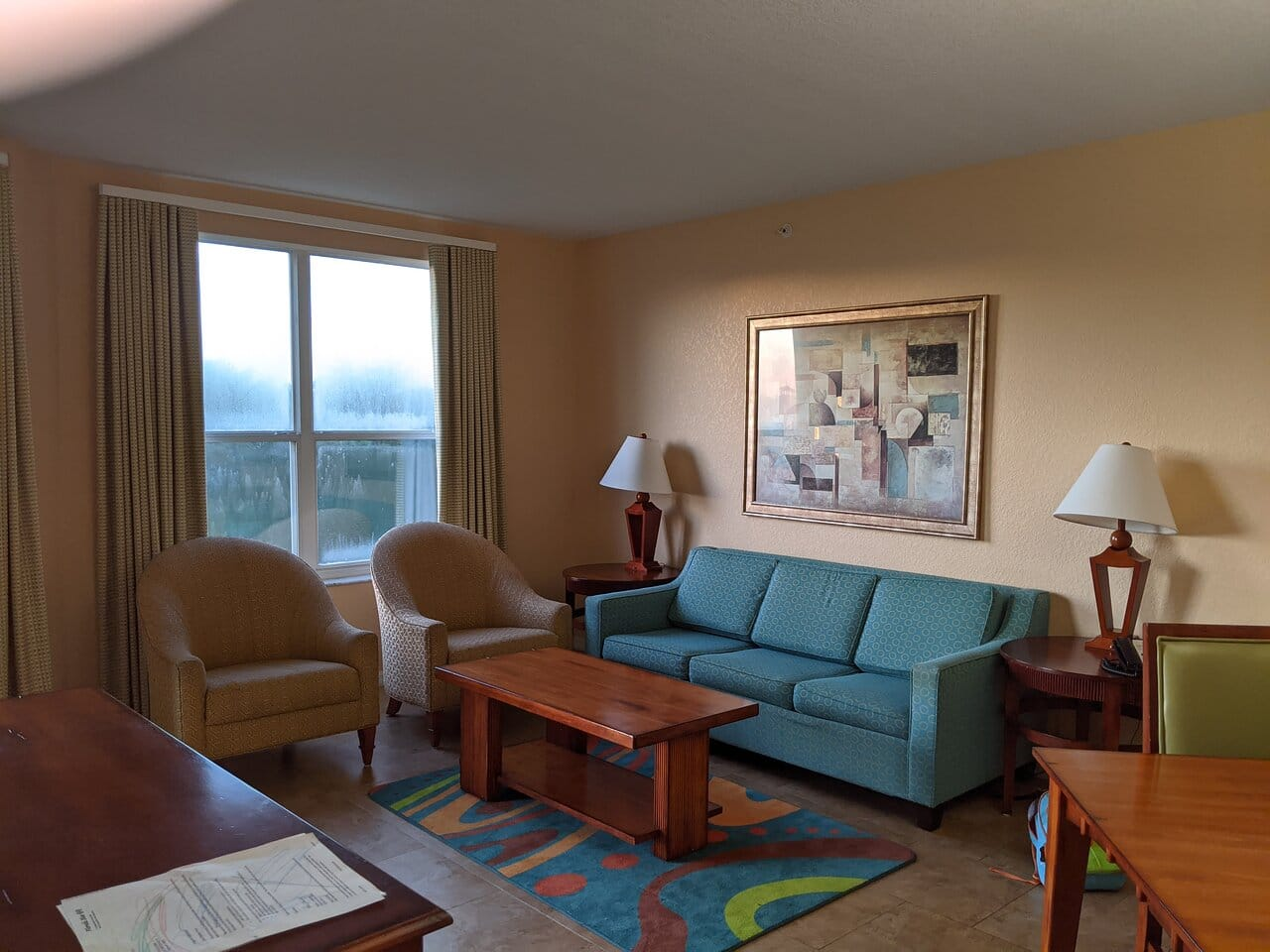 Vacation Village at Parkway Living Area
