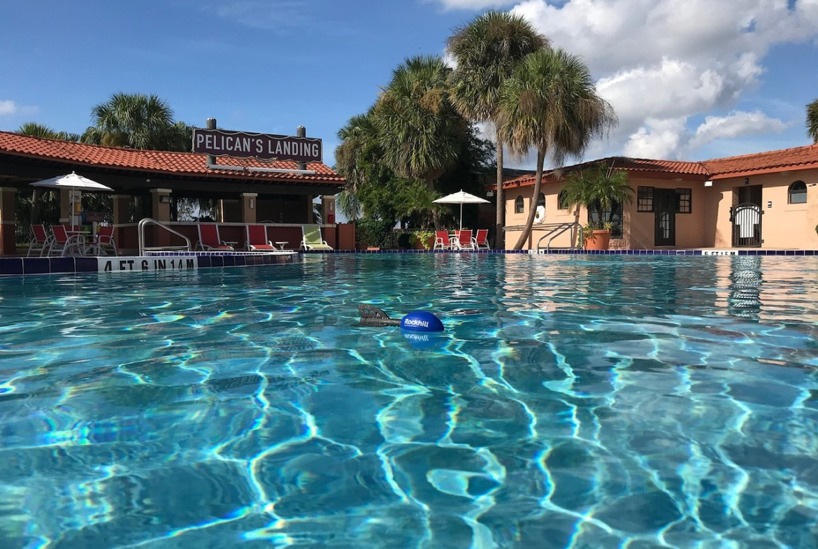 Westgate Lakes Resort and Spa Pool View