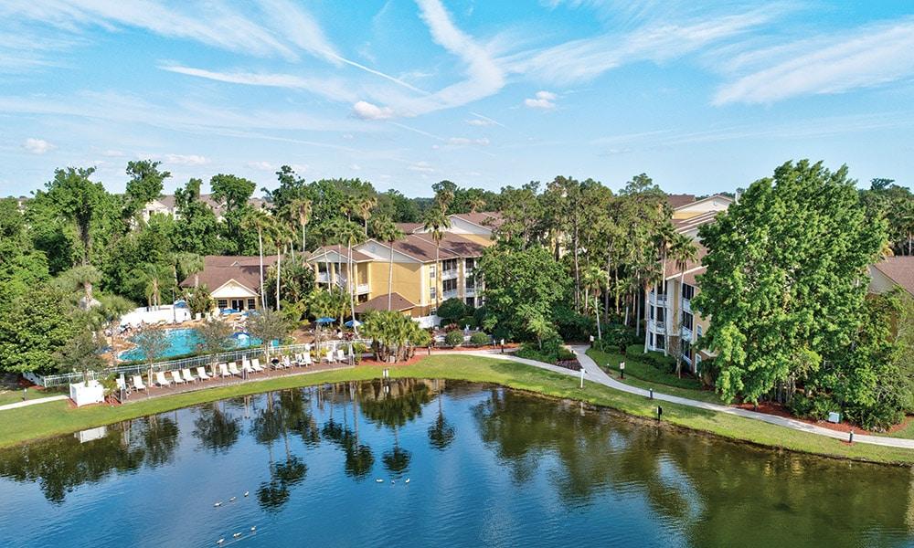 Wyndham Cypress Palms Aerial